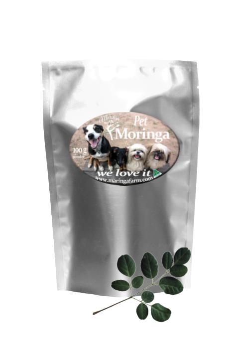 Pet Moringa silver Bag